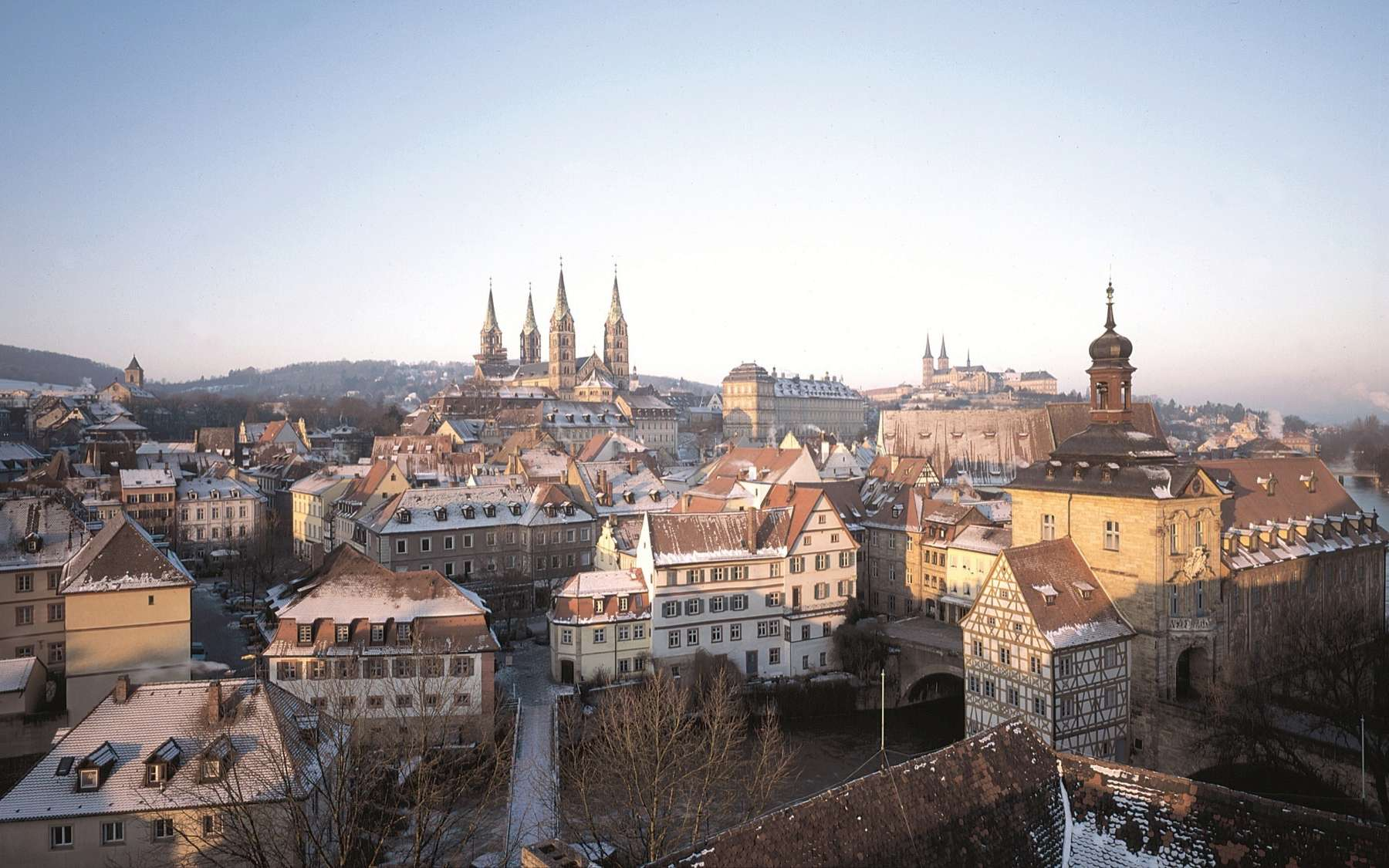 Panoramablick Winter © Bamberg Tourismus Und Kongress Service