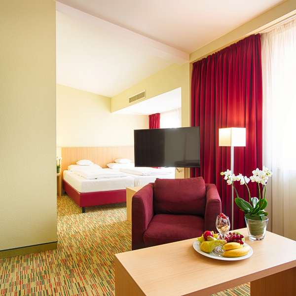 Welcome Hotel Paderborn Junior Suite 4k