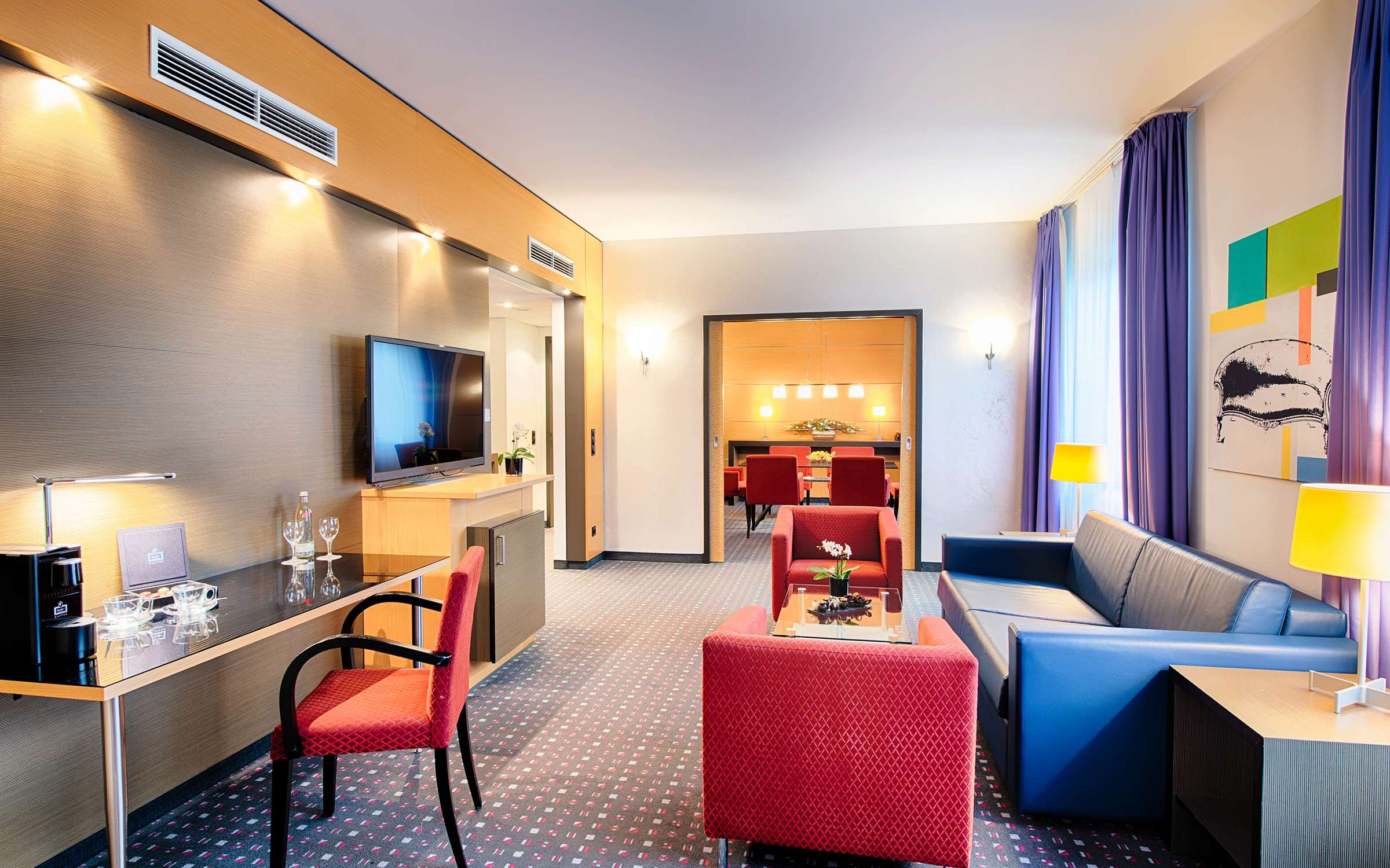 Welcome Hotel Essen Business Suite Deluxe 2k