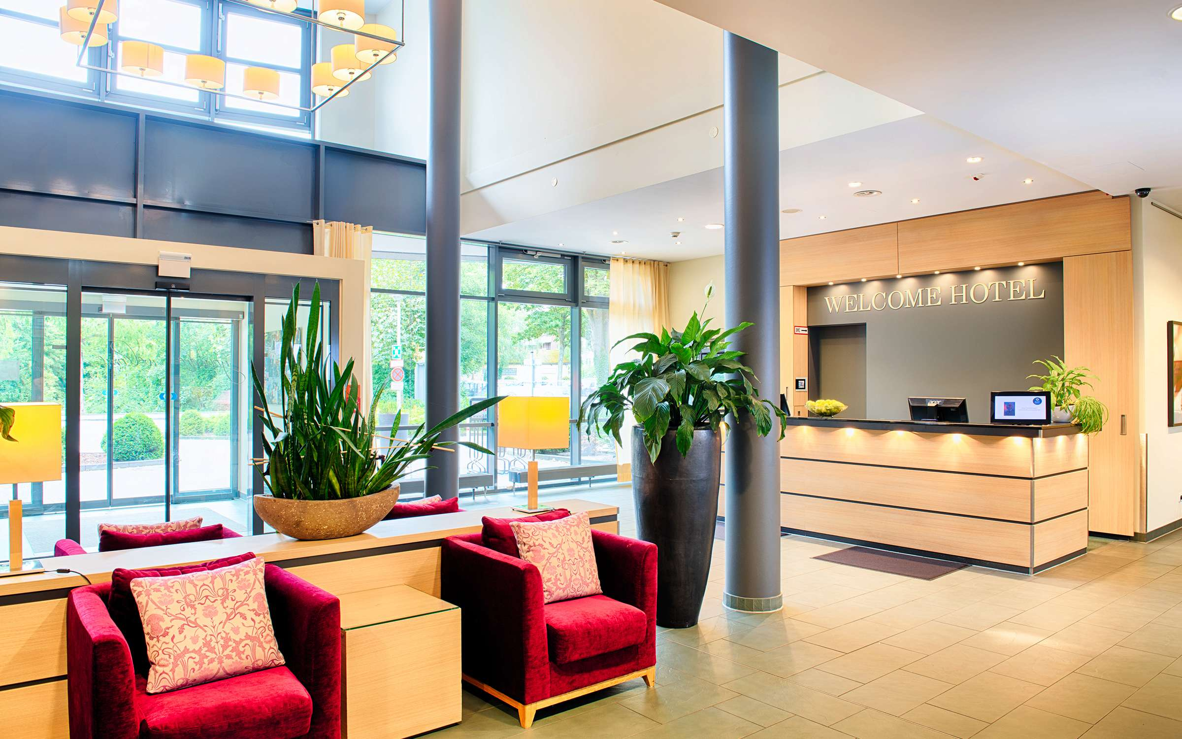 Welcome Hotel Paderborn Lobby 1