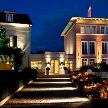 Welcome Hotel Villa Geyerswörth Aussenansicht9 © co.inc lighting designer