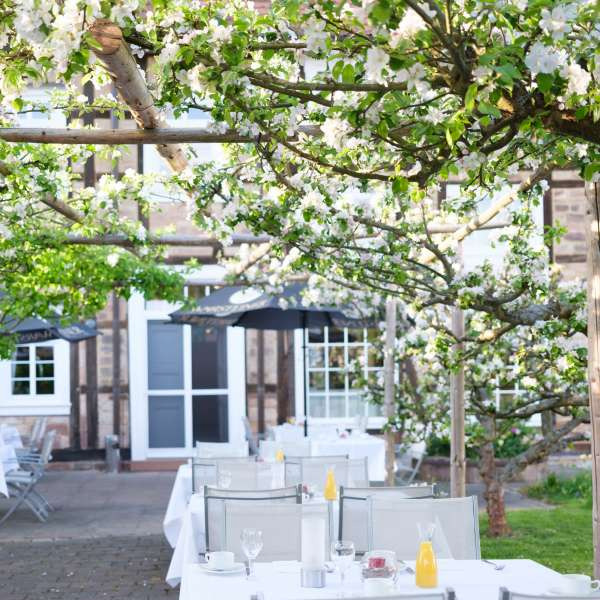 Welcome Hotel Bad Arolsen Restaurant Orangerie Terrasse