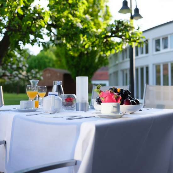 Welcome Hotel Bad Arolsen Restaurant Orangerie Terrasse 03