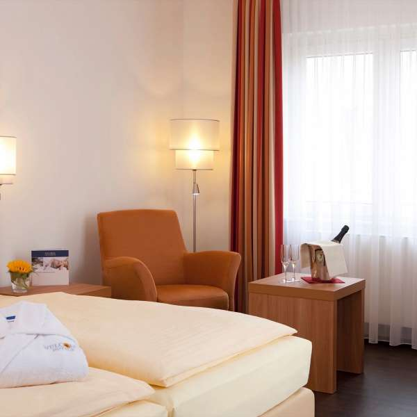 Welcome Hotel Marburg Komfort Junior Suite Zimmeransicht