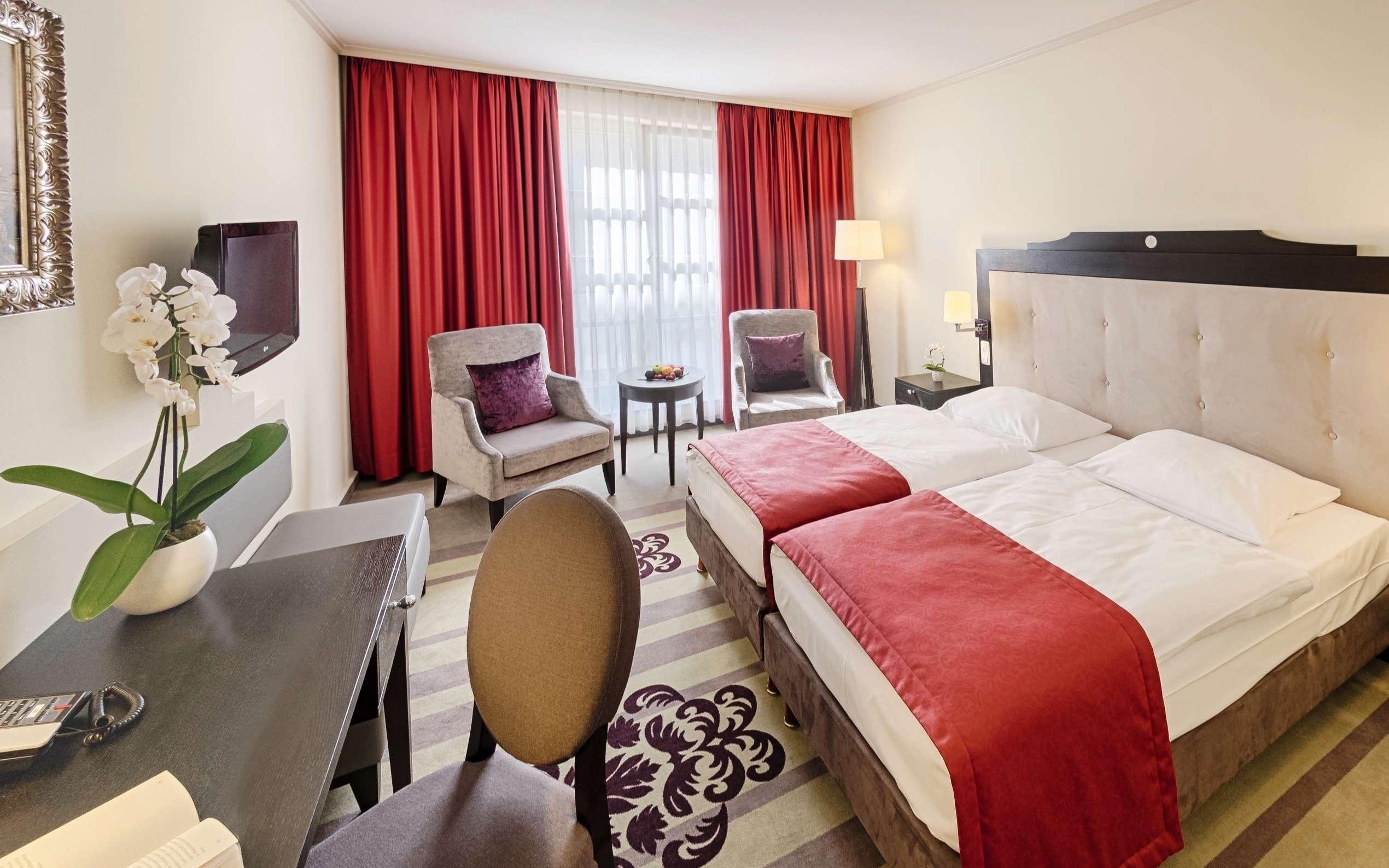 Hotelzimmer Welcome Hotel Residenzschloss Bamberg