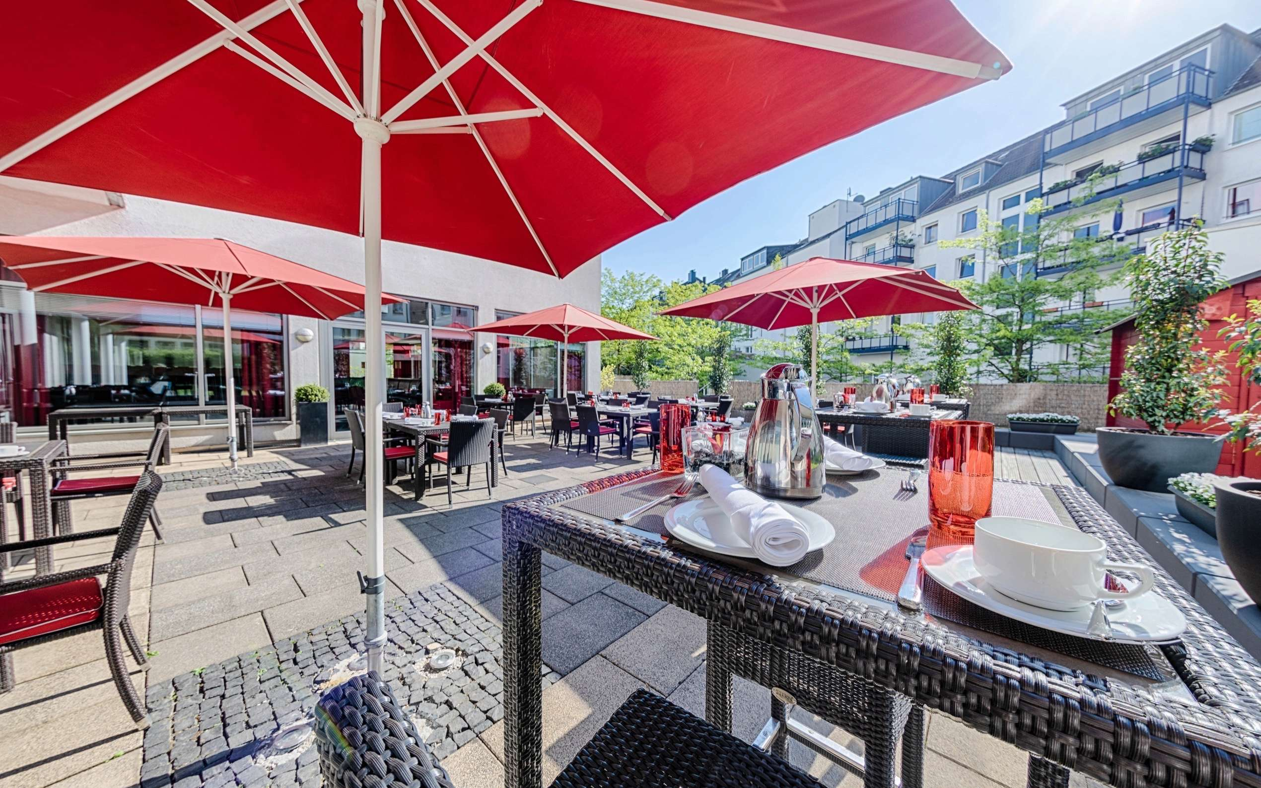 Welcome Hotel Essen Gartenterrasse Sunnyplace