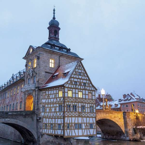 Winterbild Bamberg Welcome Hotels