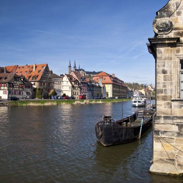 Regnitz in Bamberg - Welcome Hotel in Bamberg